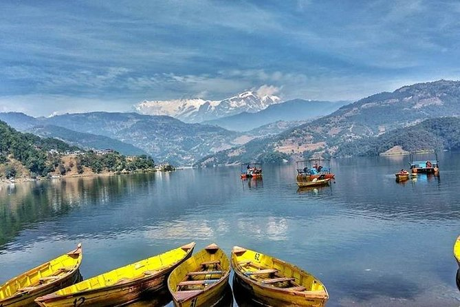 Boating On Begnas Lake And Easy Short Hiking To View Of Rupa Lake From Pokhara