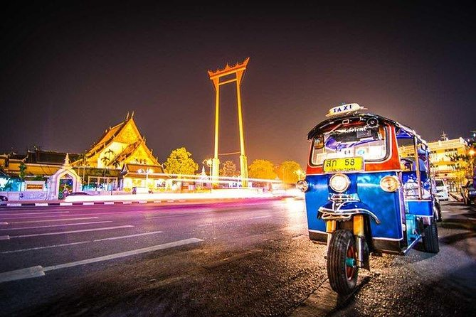 Evening City Tour at Bangkok by Tuk-Tuk