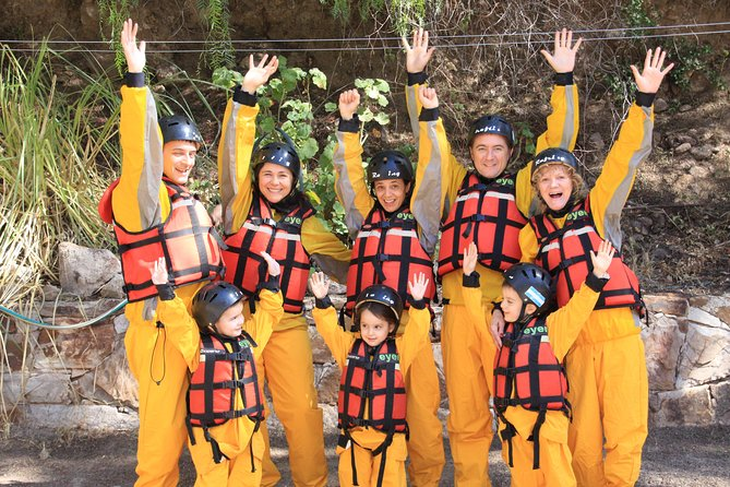Rafting boat tour on the Atuel River!
