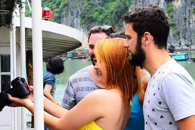 Full-Day Tour to Halong Titop island from Hanoi with Lunch