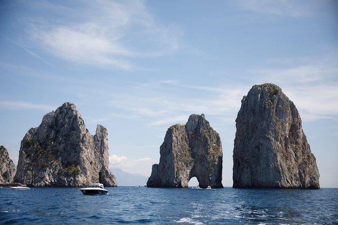 Capri Boat Tour from Sorrento - Speedboat 40'