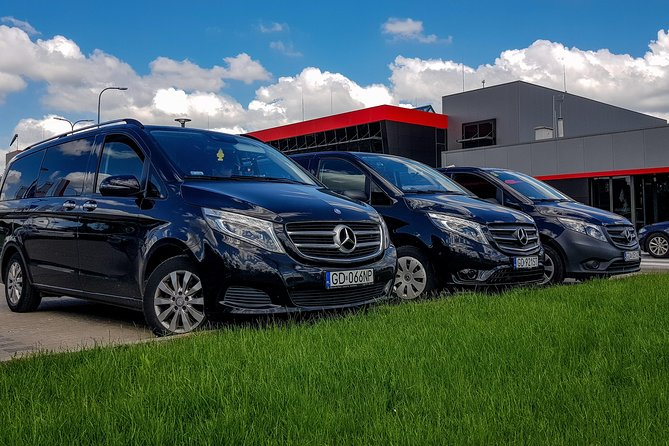 City of Gdansk or Gdansk Airport to Warsaw - private transfer