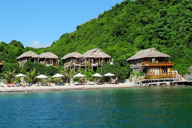 1 Night Luxury Cruise & 2 Nights Relaxing On Peaceful,Unique Bungalow Halong Bay
