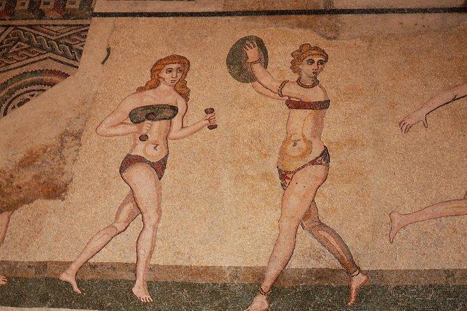 Piazza Armerina - Agrigento, Valley of Temple - Scala dei Turchi from Taormina