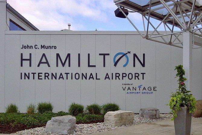 Private Transfer: Niagara Falls, ON to Hamilton Airport (YHM)