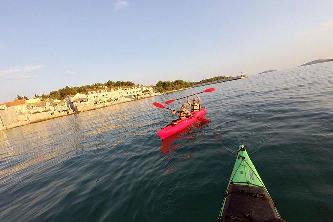Kayaking to the island Prvić