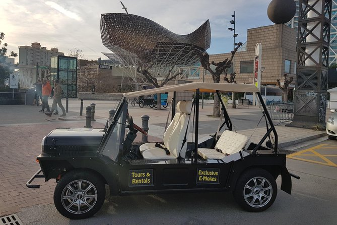 Eco Friendly Electric Jeep - Barceloneta Tour
