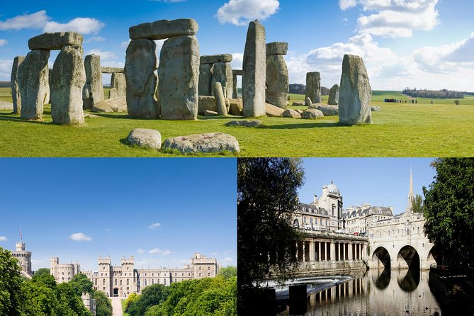 Bath, Windsor and Stonehenge Independent Full Day Private Tour
