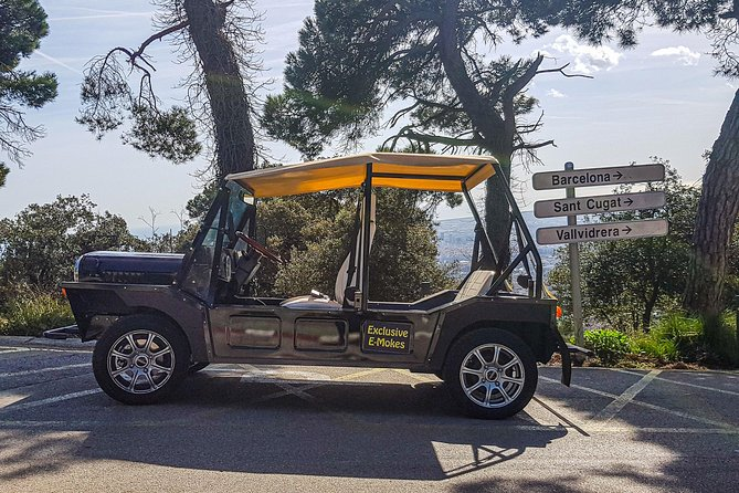 Eco Friendly Electric Jeep - Montjuic Tour