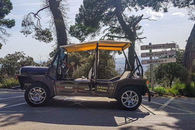 Eco Friendly Electric Jeep - Montjuic Tour