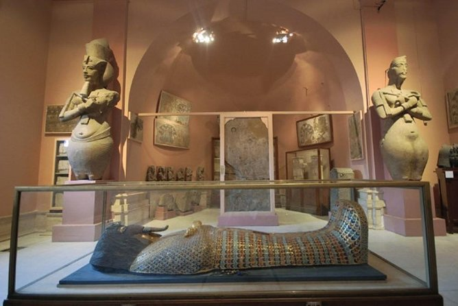 Private Tour to Giza Pyramids, Egyptian Museum,Souq with camel Ride