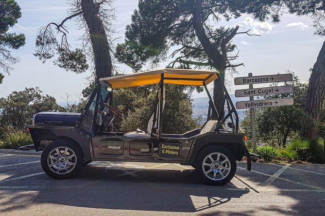 Eco Friendly Electric Jeep - Gaudi Tour