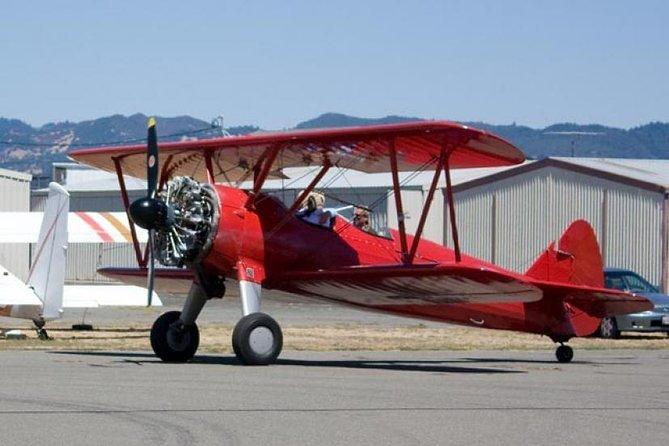 Biplane Flight & Private 8 Hour Napa Sonoma Wine Tour From San Francisco
