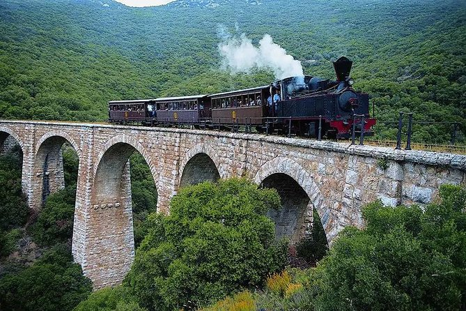 6 Day Little trains tour Greece, Mountain of Centaurs, Meteora, Delphi, Olympia