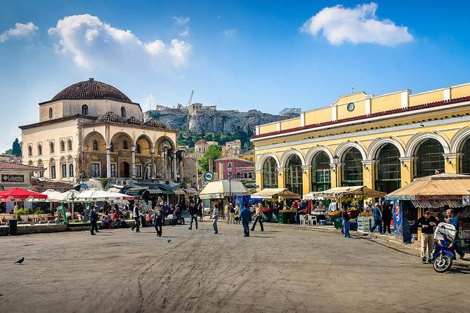 Private Ancient Agora, Monastiraki and Plaka Tour