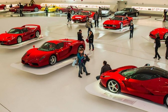 Ferrari, Parmesan and Balsamic Vinegar Tasting private tour from Forte Dei Marmi