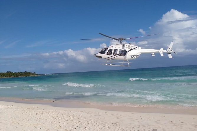 Helicopter Sightseeing Tour over Playa del Carmen
