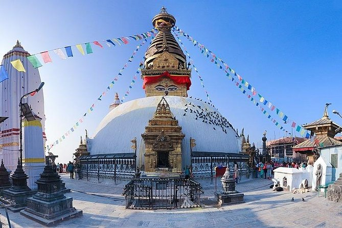 Half-Day Tour to Swoyambhunath Stupa