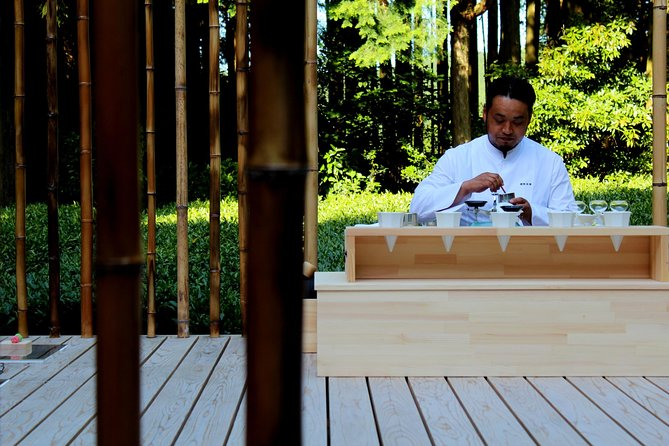 "Outdoor Tea Ceremony at ""Mori on Chashistu"""