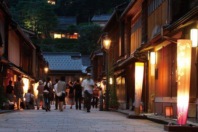 Guided Night Tour to Feel the Samurai Culture in Kanazawa