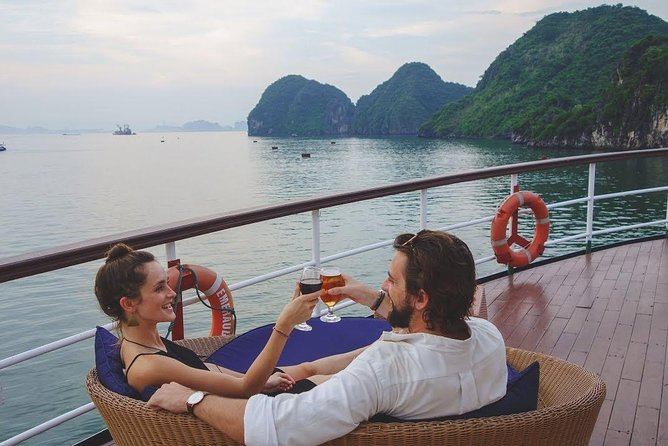 Halong Full Day Tour: Cruise, Kayak, Cave, Lunch, Island... EXPRESSWAY TRANSFER
