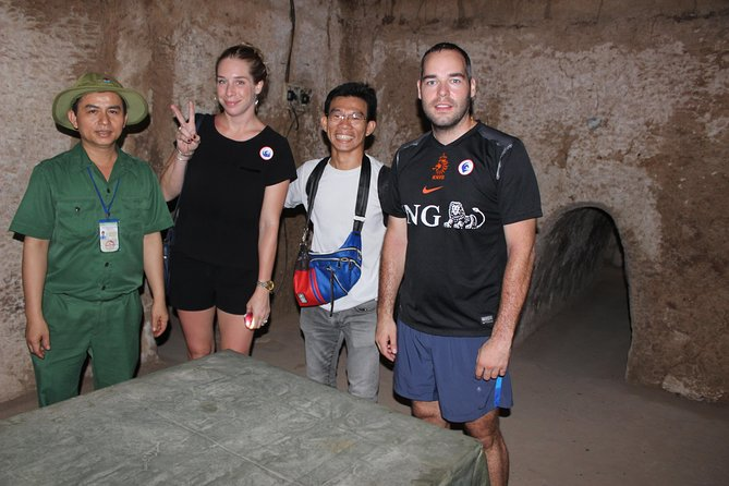 Full-Day Ho Chi Minh Cu Chi Tunnels and Saigon Private Tour