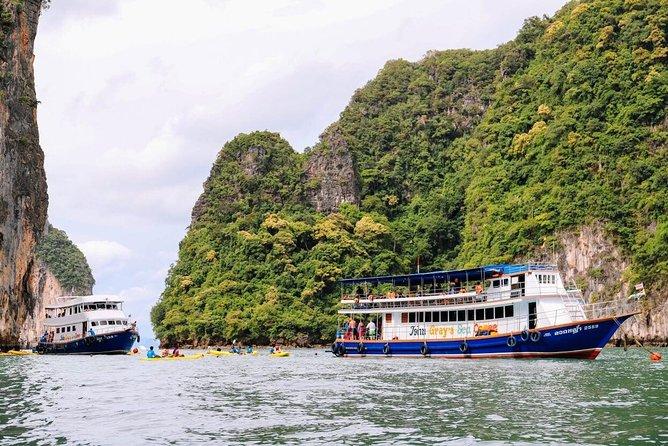 Day trip to Phang Nga Bay on John Gray's Sea Canoe (with Lunch & Dinner)