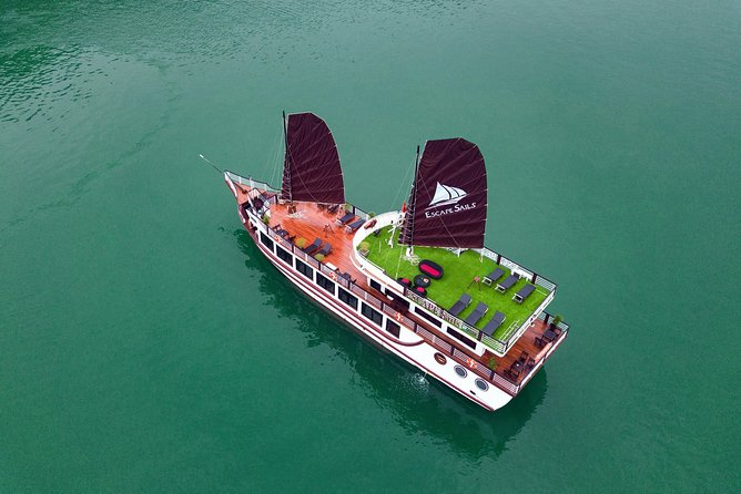 Luxury Ha Long -Lan Ha Bay Day Cruise with Escapes Sails ( Tour from Hanoi )