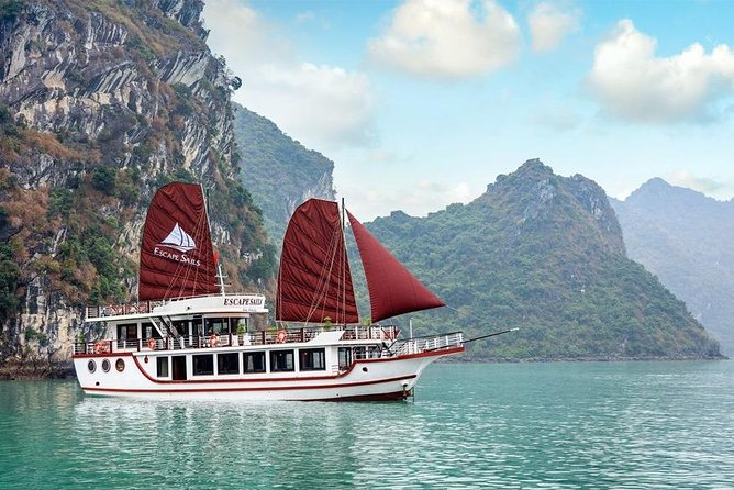 Halong & Lan Ha Bay Full Day Cruise with Limousine Bus Transfer