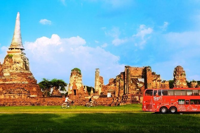 Siam Plus, Shared and Exclusive Bus & Boat Ayutthaya Program