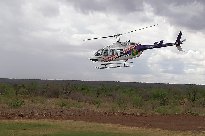 Helicopter,Falls tour and Chobe Day trip Combo