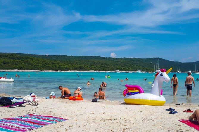 Sakarun Beach - boat trip from Zadar