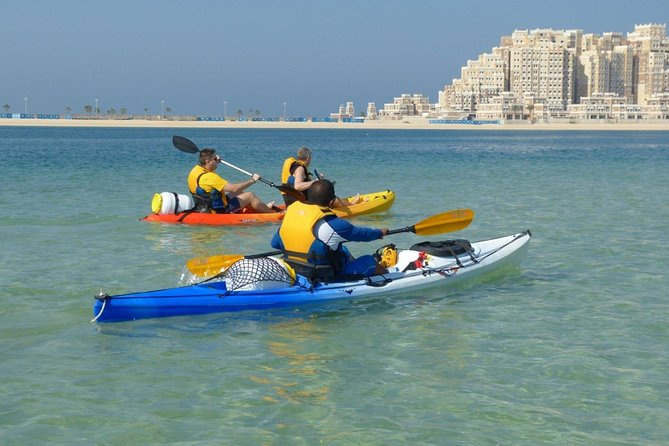30-Minute Private Kayaking on the Gulf Coast Beach in Sharjah