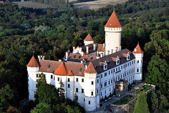 Private day trip from Prague to Konopiště castle and Hluboka Castle