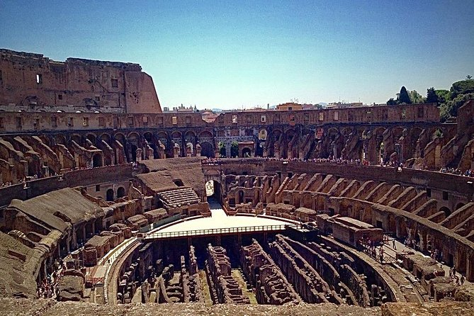 Colosseum Arena floor-Special Entrance