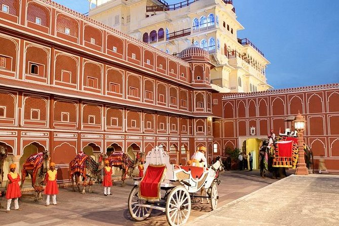 Jaipur Pink City Tour By Air Conditioned Car From Delhi