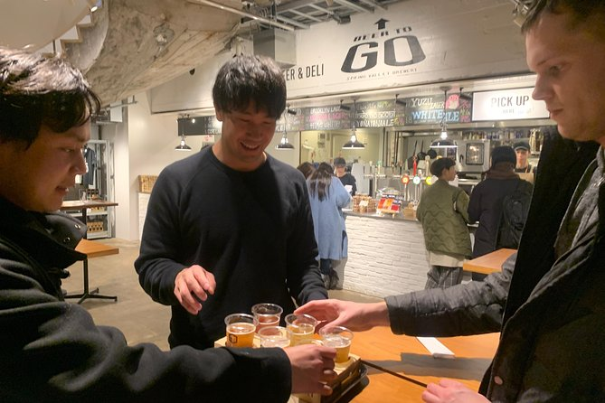 Tokyo Craft Beer Pairing & Tasting Tour
