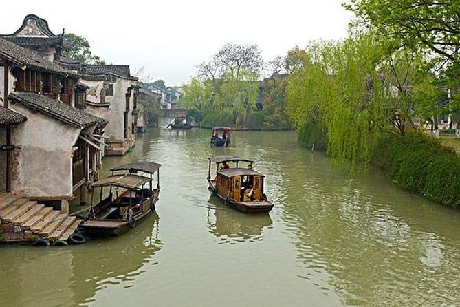 Wuzhen and Xitang Water Town Private Transfer from Shanghai