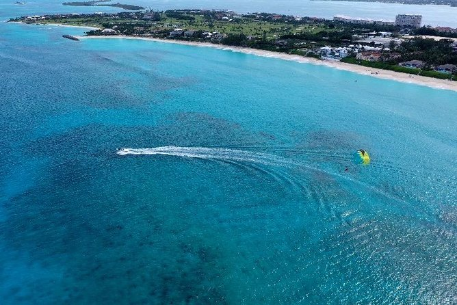Parasail Over Cabbage Beach