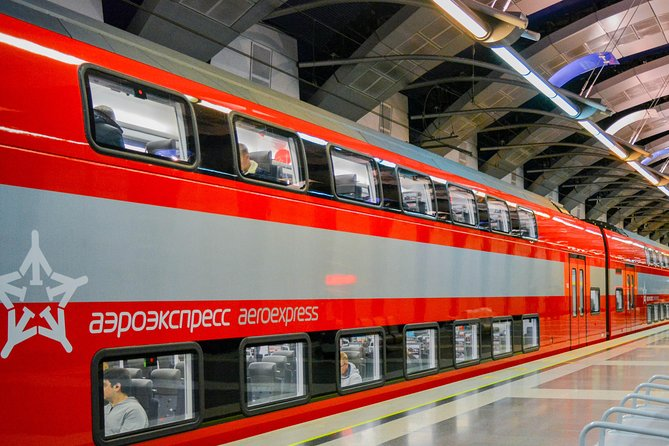 Airport transfer with private guide (Aeroexpress)