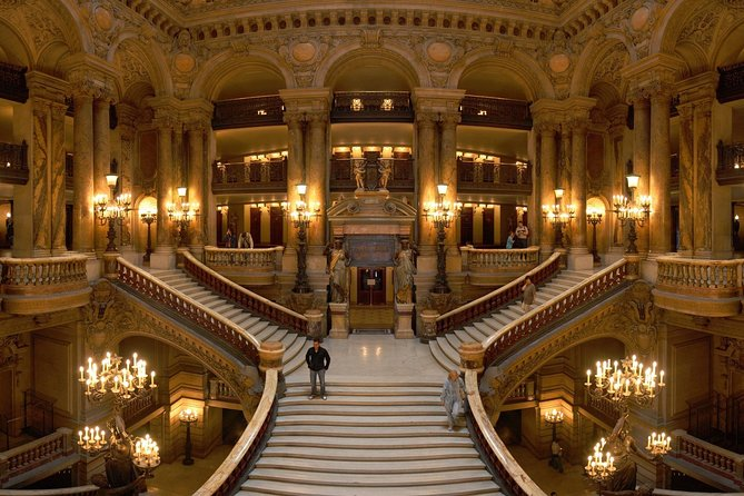 Paris Opera Garnier & Seine River Cruise Tickets