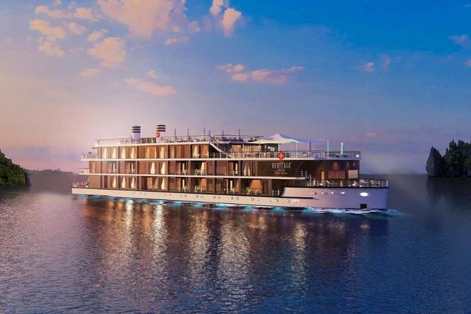 Heritage Cruises- Best Luxury Cruise to Halong Bay & Lan Ha Bay (2 days 1 night)