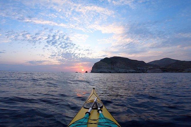 Serenity Kayak_Santorini Outdoors: Semi Private Sunset Tour