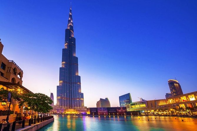 Dubai City Tour By Night With Burj Khalifa Ticket and Pick Up