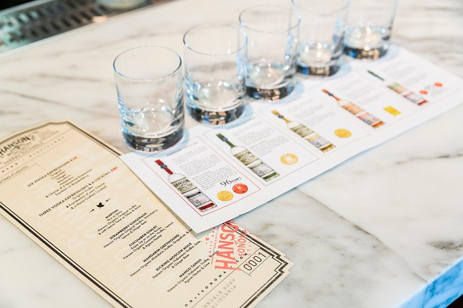 Hanson Vodka & Whiskey Expression Tasting