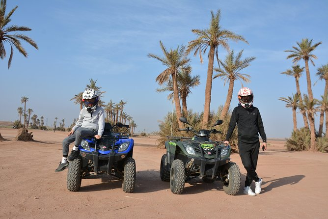 Quad biking in Marrakech