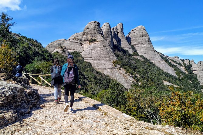 Montserrat Hiking Off the Beaten Path & Monastery. Small Group Tour