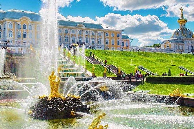 Береговая экскурсия в Петергоф-Гранд Палас и фонтаны