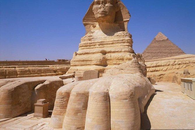 Day trip to the Pyramids, Sphinx, and Saqqara