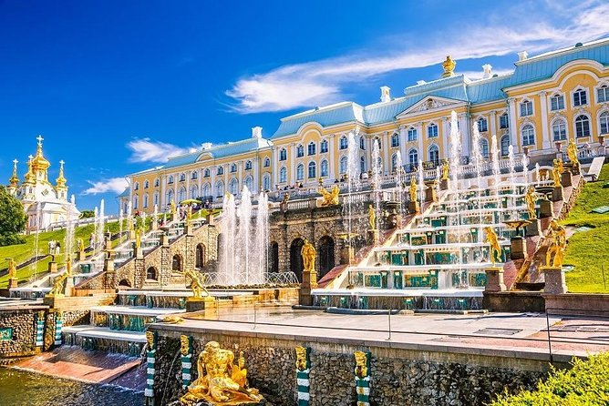 5-Hour Day Tour to Peterhof Palace and Gardens